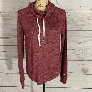 Hollister Cowl Neck Lightweight Sweater XS